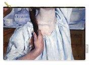 Cassatt's Girl Arranging Her Hair Carry-all Pouch
