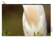 Cattle Egret Adult In Breeding Plumage Carry-all Pouch