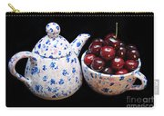 Cherries Invited To Tea Carry-all Pouch