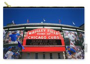 Chicago Cubs - Wrigley Field Carry-all Pouch by Frank Romeo