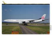 China Airlines Airbus A340 Carry-all Pouch