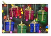 Christmas Present Ornaments Carry-all Pouch