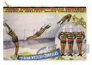Circus Poster, C1898 Carry-all Pouch