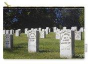 Civil War Dead At Arlington Carry-all Pouch