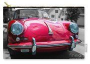 Classic Red P Sports Car Carry-all Pouch