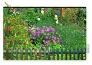 Close-up Of Flowers, Muren, Switzerland Carry-all Pouch