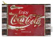 Coca Cola Signs Carry-all Pouch
