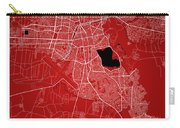 Cochabamba Street Map - Cochabamba Bolivia Road Map Art On Color Carry-all Pouch