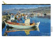 Colorful Boats Carry-all Pouch