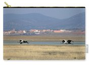Common Cranes At Gallocanta Lagoon Carry-all Pouch