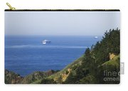 Container Ship On Open Water Carry-all Pouch