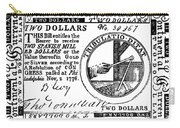 Continental Banknote, 1776 Carry-all Pouch