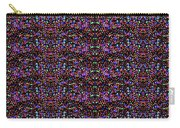 Cosmic Star Sparkles Spectrum Abstract Art By Navin Joshi Created Out Of Christmas Lights Gifts And  Carry-all Pouch