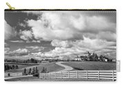 Country Living Bw Carry-all Pouch