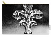 Court Jester - Bw Texture Carry-all Pouch