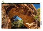 Coyote Natural Bridge - Coyote Gulch - Utah Carry-all Pouch by Gary Whitton