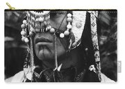 Crow Native American Traditional Dress Rodeo Gallup New Mexico 1969 Carry-all Pouch