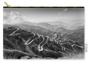 Curvy Roads Silk Trading Route Between China And India Carry-all Pouch