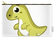 Cute Illustration Of A Parasaurolophus Carry-all Pouch