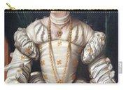 Da Brescia's Portrait Of A Lady In White Carry-all Pouch