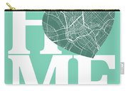 Dallas Street Map Home Heart - Dallas Texas Road Map In A Heart Carry-all Pouch
