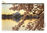 Dawn Over The Jefferson Memorial  Carry-all Pouch