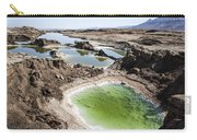 Dead Sea Sinkholes  Carry-all Pouch by Eyal Bartov