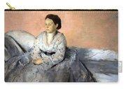 Degas' Madame Rene De Gas Carry-all Pouch
