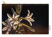 Desert Easter Lily Carry-all Pouch by Robert Bales