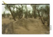 Desert Tamarix Trees Carry-all Pouch by Dan Yeger
