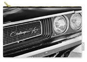 Dodge Challenger Rt Grille Emblem Carry-all Pouch