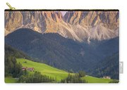 Dolomites From Val Di Funes Carry-all Pouch