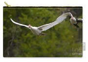 Domestic Muscovy Ducks In Flight   #1137 Carry-all Pouch