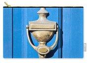 Door Knocker Carry-all Pouch by Tom Gowanlock