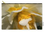 Double Daffodil Named White Lion Carry-all Pouch