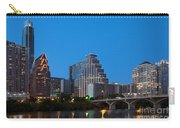 Downtown Austin Skyline Carry-all Pouch