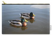 Ducks On Water Carry-all Pouch