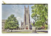 Duke Chapel In Spring Carry-all Pouch