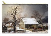 Durrie's Winter In The Country Carry-all Pouch
