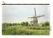 Dutch Landscape With Windmills Carry-all Pouch