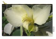 Dwarf Canna Lily Named Ermine Carry-all Pouch