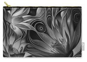 Dynamic Floral Fantasy Carry-all Pouch