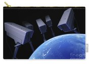 Earth Under Surveillance Carry-all Pouch