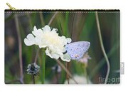 Eastern Tailed Blue Butterfly On Pincushion Flower Carry-all Pouch