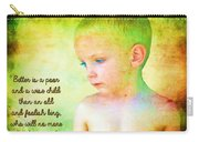 Ecclesiastes 4 13 Carry-all Pouch