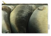 Elephant Seal Pups Carry-all Pouch