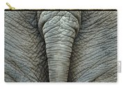 Elephant's Tail Carry-all Pouch by Mae Wertz