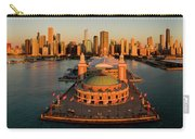 Elevated View Of The Navy Pier Carry-all Pouch
