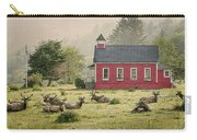Elk In The School Yard Carry-all Pouch