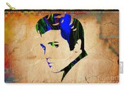 Elvis Presly Wall Art Carry-all Pouch
